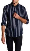 Slate & Stone Striped Point Collar Shirt