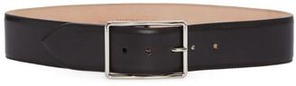 Alexander McQueen Wide Leather Belt