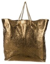 Lanvin Embossed Carry Me Tote