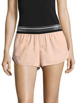 Ivy Park Striped Elastic Waist Shorts