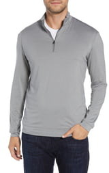 johnnie-O Flex Classic Fit Prep-Formance Quarter Zip Pullover