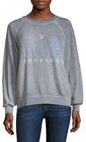 Wildfox Couture Sun Kissed Printed Sweatshirt