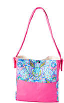 Pink Blueberry Hare Diaper Bag