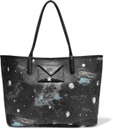 Marc by Marc Jacobs Metropolitote printed faux textured-leather tote