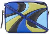 Emilio Pucci block panel crossbody bag