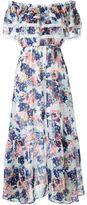 GUILD PRIME floral off-shoulder maxi dress