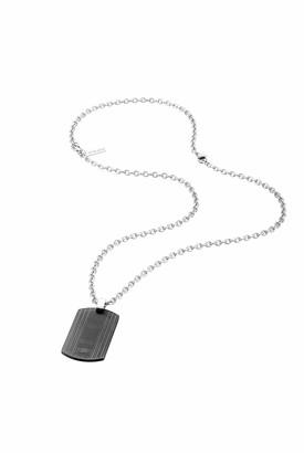 Police Men Stainless Steel Pendant Necklace - PJ26317PSU.02
