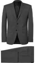 Givenchy Grey Slim-Fit Wool Suit