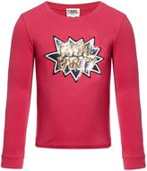 Karl Lagerfeld Girls Long Sleeve T-Shirt