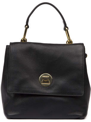 Coccinelle Liya Medium Black Leather Bag