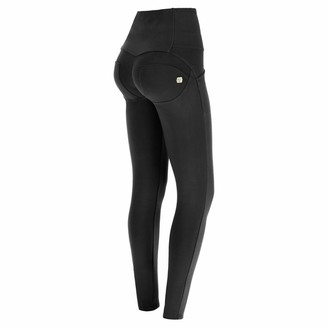 Freddy WR.UP high-Rise Skinny-fit Trousers in Stretch Cotton - Black - Small