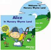 BabyCentre Barafundle Personalised Story CD Alice in Nursery Rhyme Land