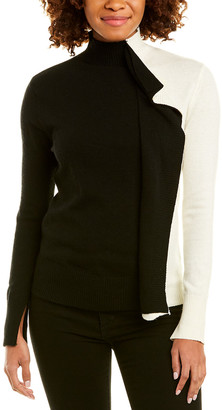 Central Park West Mock Neck Sweater