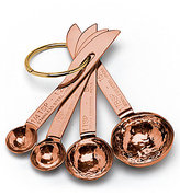 Southern Living Hammered Copper Measuring Spoons, Set of 4