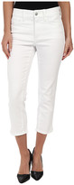 NYDJ Svetlana Skinny Crop in Optic White