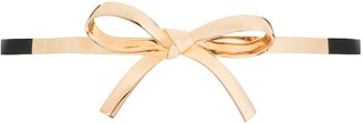 Carolina Herrera Skinny Bow Belt