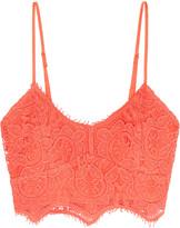 Miguelina Zoe crocheted cotton bra top