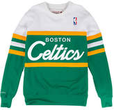 Mitchell & Ness Men's Boston Celtics Head Coach Crew Sweatshirt