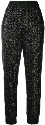 NO KA 'OI Sequin Track Trousers