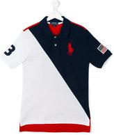 Ralph Lauren blockcolour polo shirt - kids - Cotton - 16 yrs
