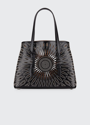 Alaia Mina Small Studded Tote Bag