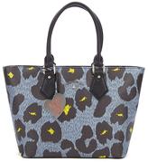 Vivienne Westwood Leopardmania Women's Shopper Bag Grey
