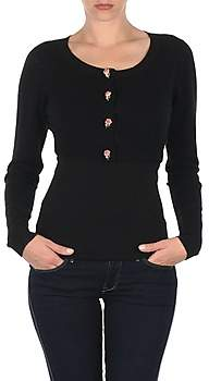 Manoush GILET VALENTINE women's Sweater in Black