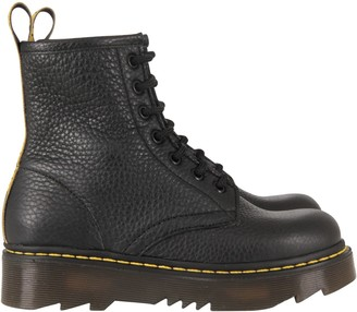 Gallucci Black Boots For Kid With Logos