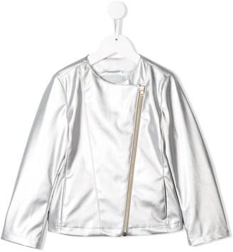 Herno Off Centre Zip Jacket