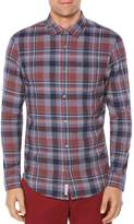 Original Penguin Plaid Slim Fit Button-Down Shirt