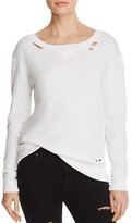 n PHILANTHROPY Joni Distressed Sweatshirt