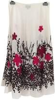 Hobbs White Linen Skirt for Women