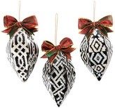 Mackenzie Childs Pearly Kings and Queens Tree Decoration