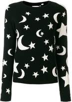 Chinti & Parker cashmere midnight sky sweater