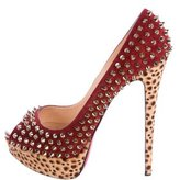 Christian Louboutin Spiked Platform Pumps