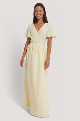 Kae Sutherland X NA-KD Chiffon Maxi Dress