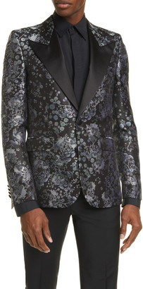 Givenchy Silk Brocade Dinner Jacket