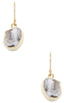 Janna Conner Black Geode Earrings