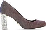 Dune Bindy metallic court shoes