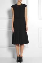 Tory Burch Liv embellished silk-georgette dress