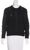 J Brand Open Knit Wool-Blend Sweater