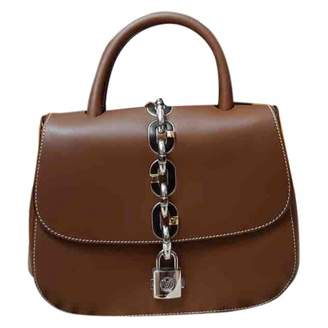 Louis Vuitton Chain It Brown Leather Handbags