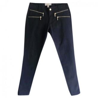 Michael Kors Black Cotton Trousers