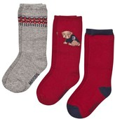 Mayoral Pack of 3 Dog Baby Socks