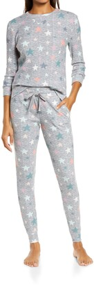 Emerson Road Waffle Knit Pajamas
