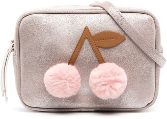 Bonpoint Pompom Cherry Shoulder Bag