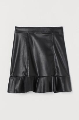 H&M Flounced Skirt - Black