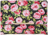 Dune Beaut floral-print clutch bag