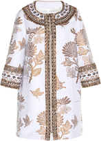 Andrew Gn Beaded Floral Coat
