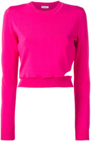 Thierry Mugler cut-out jumper - women - Polyamide/Spandex/Elastane/viscose - 36